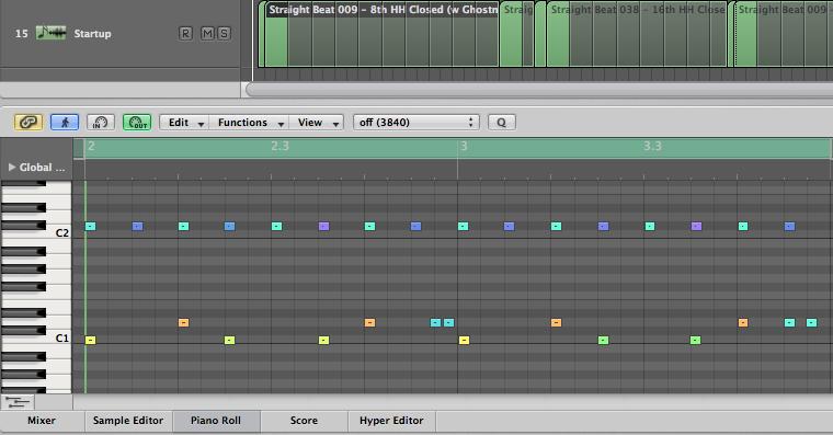 Drum-Loop-Piano-Roll